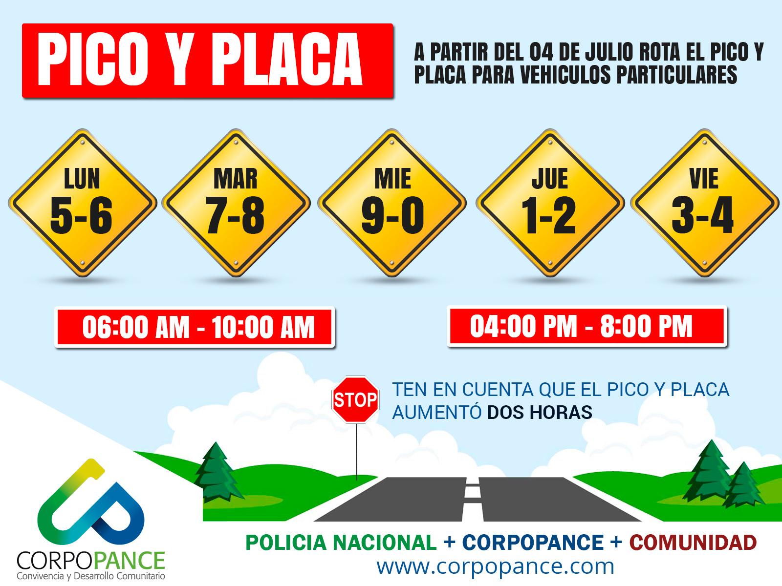 Pico y placa Cali 2017 / Ampliación y horarios