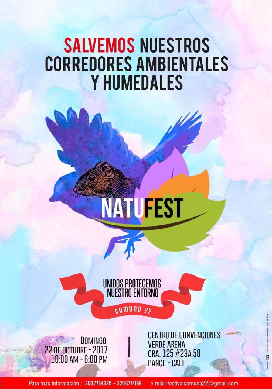 Festival Natufest Comuna 22 – Cali / 22 de Octubre